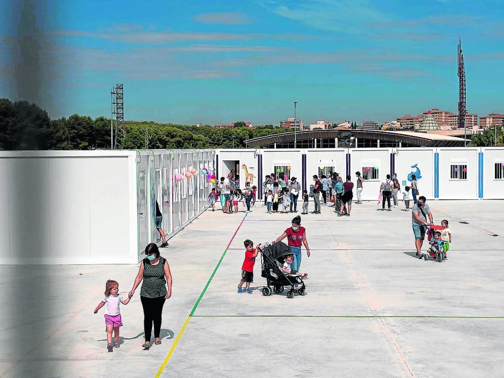 SALIDA DEL COLEGIO MARIA ZAMBRANO EN PARQUE VENECIA / 09-09-2020 / FOTOS: FRANCISCO JIMENEZ [[[FOTOGRAFOS]]]