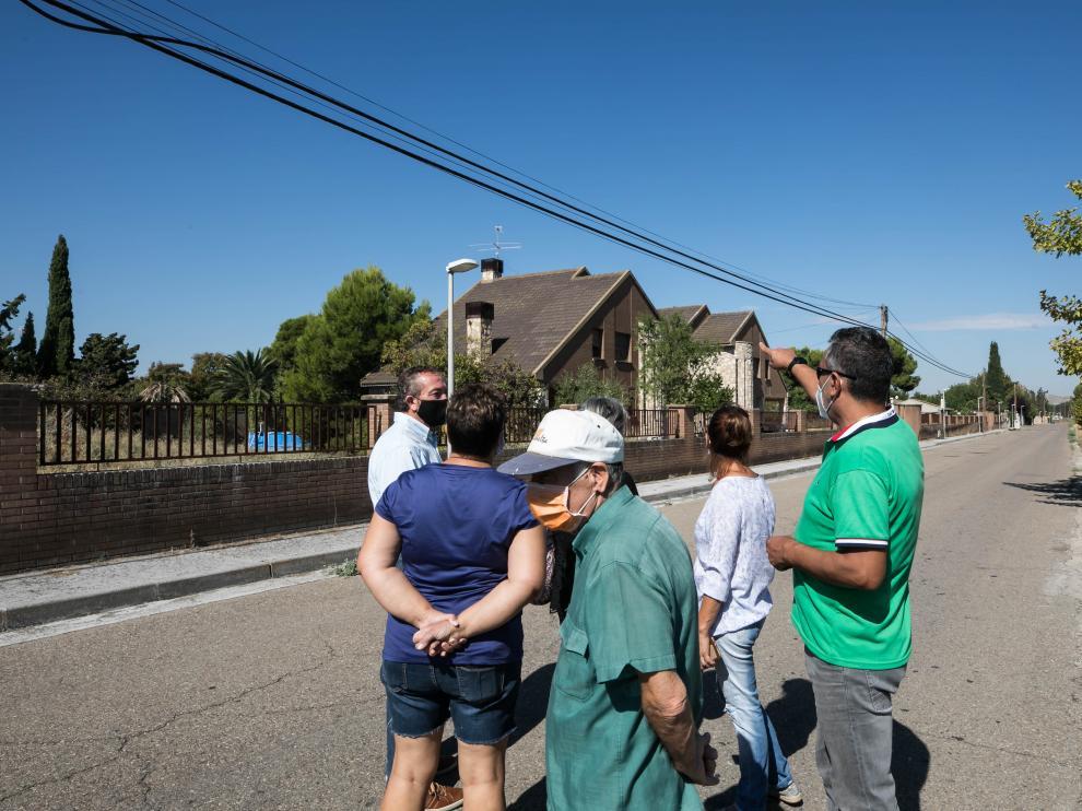 Vecinos de Nuez de Ebro denuncian la okupación de dos adosados