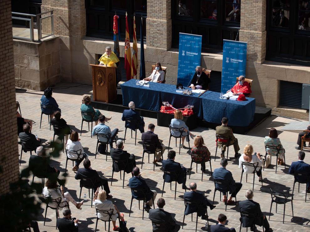 La Universidad de Zaragoza celebra el acto de apertura del curso académico 2020-2021