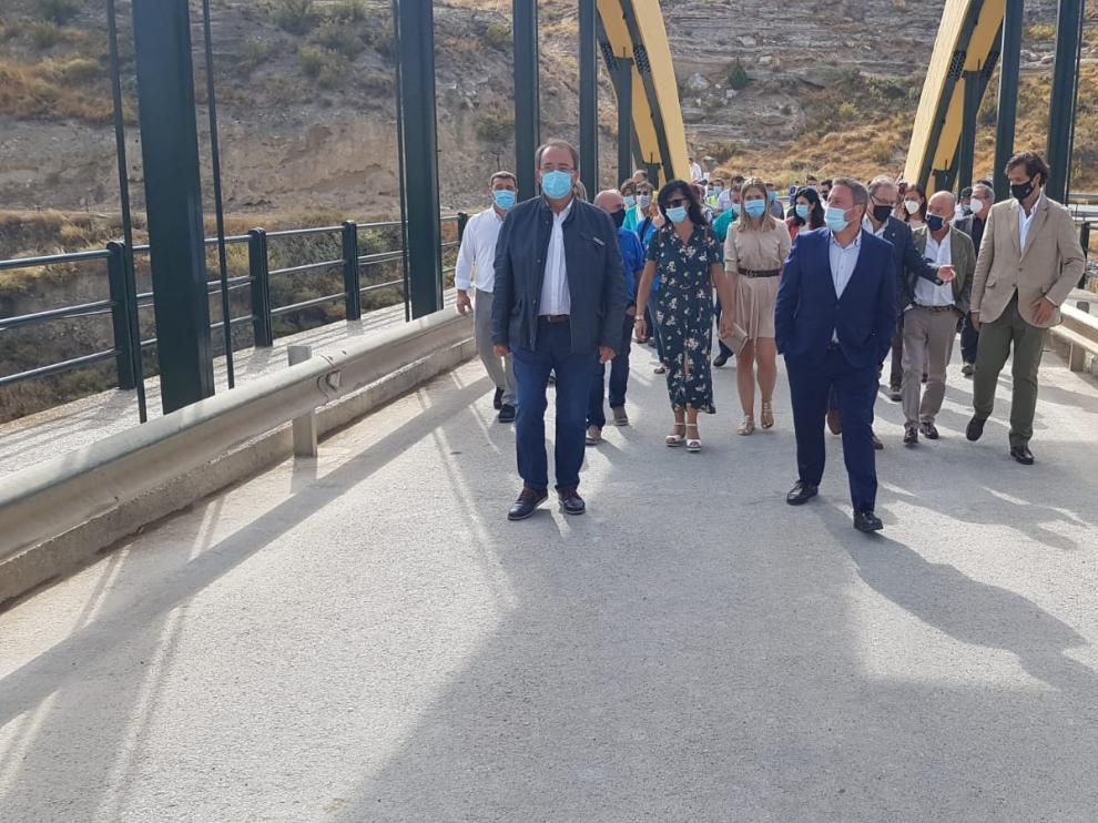 Finalizadas las obras del puente de Sástago