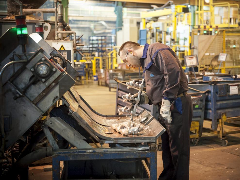 Empresa Alumalsa. Visita a las instalaciones.S / 26-02-2014 / FOTO: MAITE SANTONJA [[[HA ARCHIVO]]]