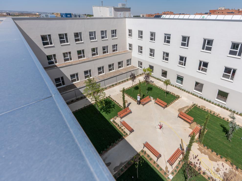 La residencia será el primer edificio de uso terciario certificado como 'passivhaus' en Aragón.
