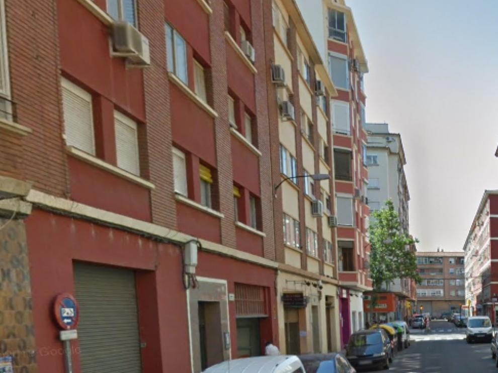 Los hechos han ocurrido en la calle de Octavio García Burriel
