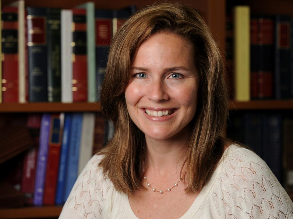 La juez Amy Coney Barrett.