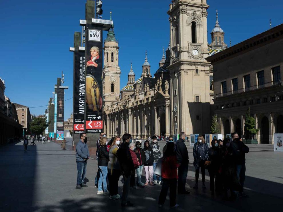Los zaragozanos participan en las actividades programadas por el Ayuntamiento