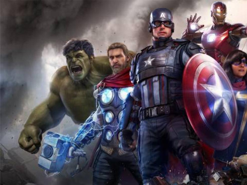 Los protagonistas de Avengers en el juego no tienen el mismo aspecto que en las películas