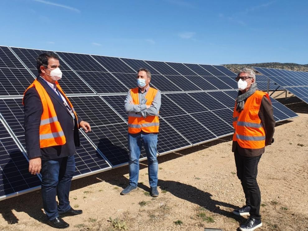 Aeropuerto de Teruel planta fotovoltaica