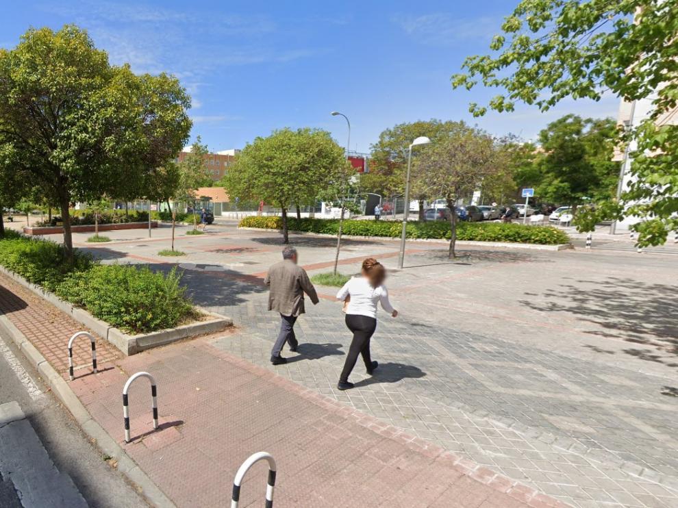 Imagen del bulevar de Indalecio Prieto, en Madrid.