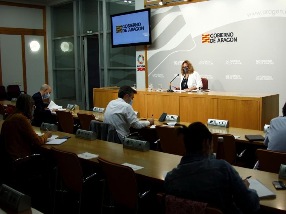 Rueda de prensa del consejo de Consejo de Gobierno del 30 de septiembre