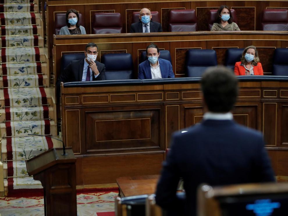 Sesión de control al Gobierno