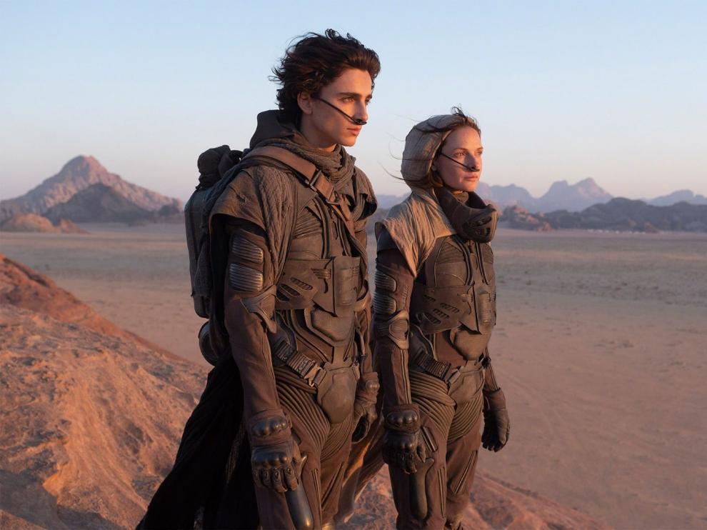 Un fotograma de 'Dune'.
