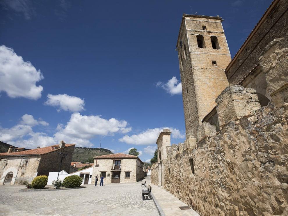 Vista de la localidad de Jabaloyas en Teruel
