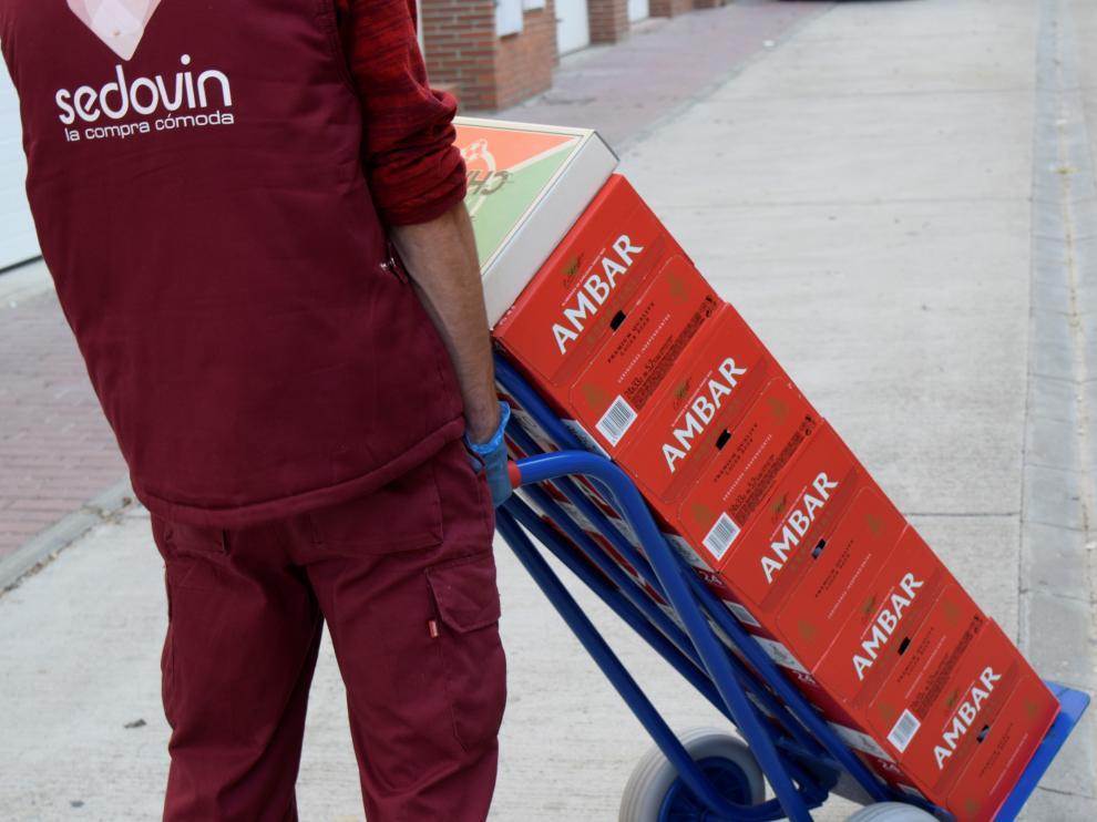 El supermercado 'online' reparte los productos de Ambar por toda España e incluso ha comenzado a hacerlo en Europa.