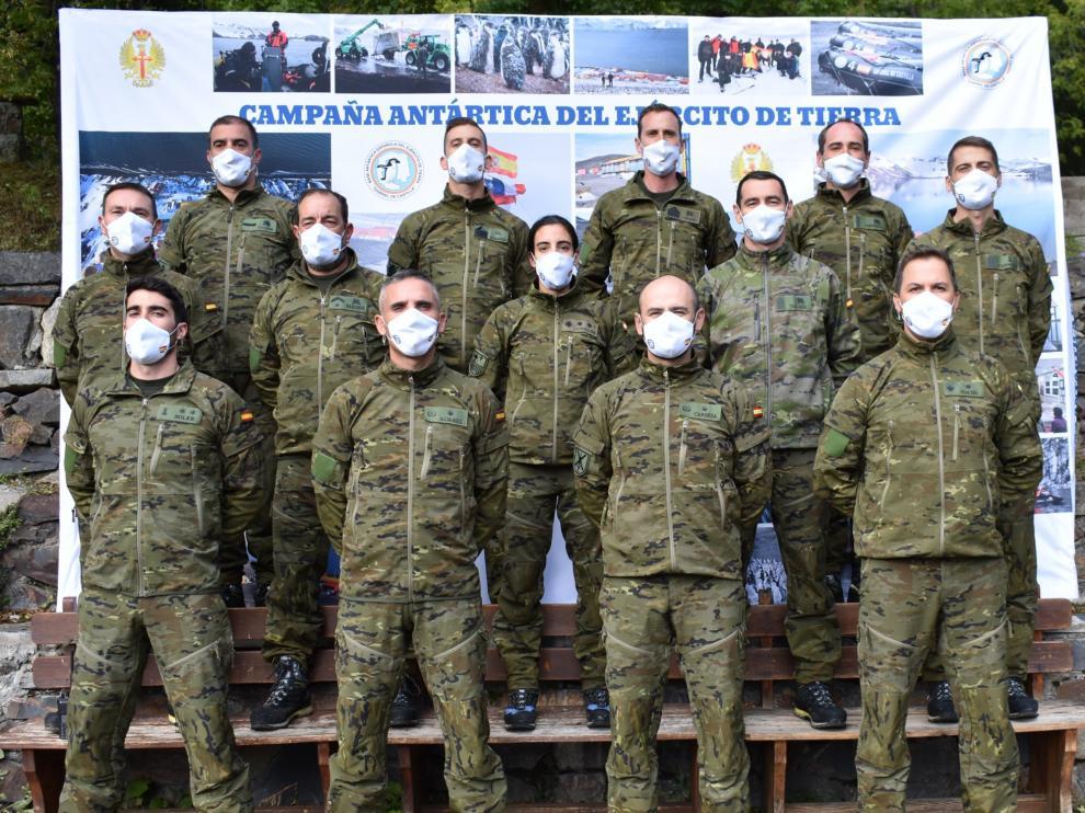 La Campaña Antártica del Ejército de Tierra se despide de Benasque con los objetivos alcanzados.