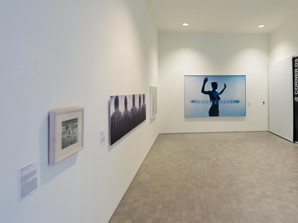 Exposición de mujeres 'A través de mi cuerpo, A través de tu cuerpo' en el IAACC Pablo Serrano de la capital aragonesa.