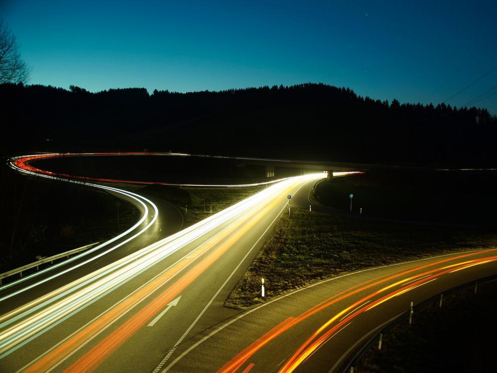 Una imagen de carreteras.