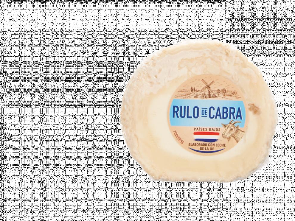 El queso de rulo de cabra, comercializado en Lidl, cuyo lote se ha visto afectado por lifteria.
