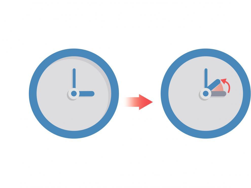 En el cambio horario de invierno a las 3.00 serán las 2.00