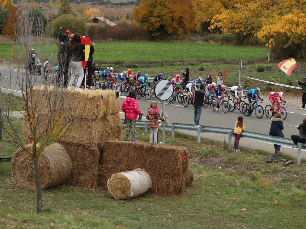 Foto de la sexta etapa de la Vuelta a España entre Biescas y Formigal.