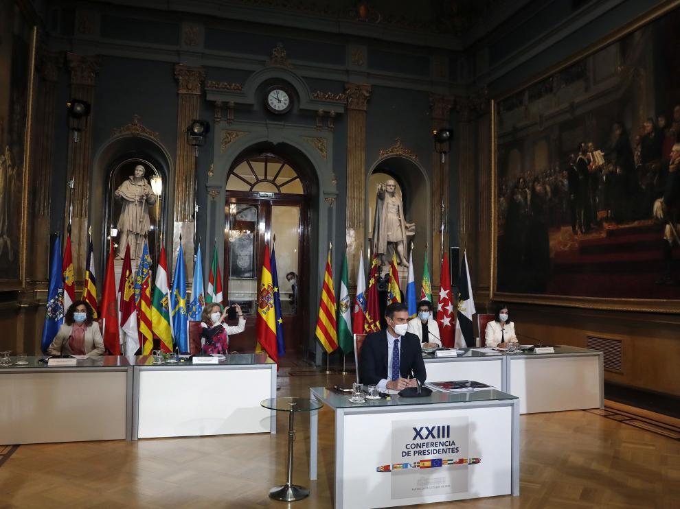 Imagen de la XXIII conferencia de Presidentes