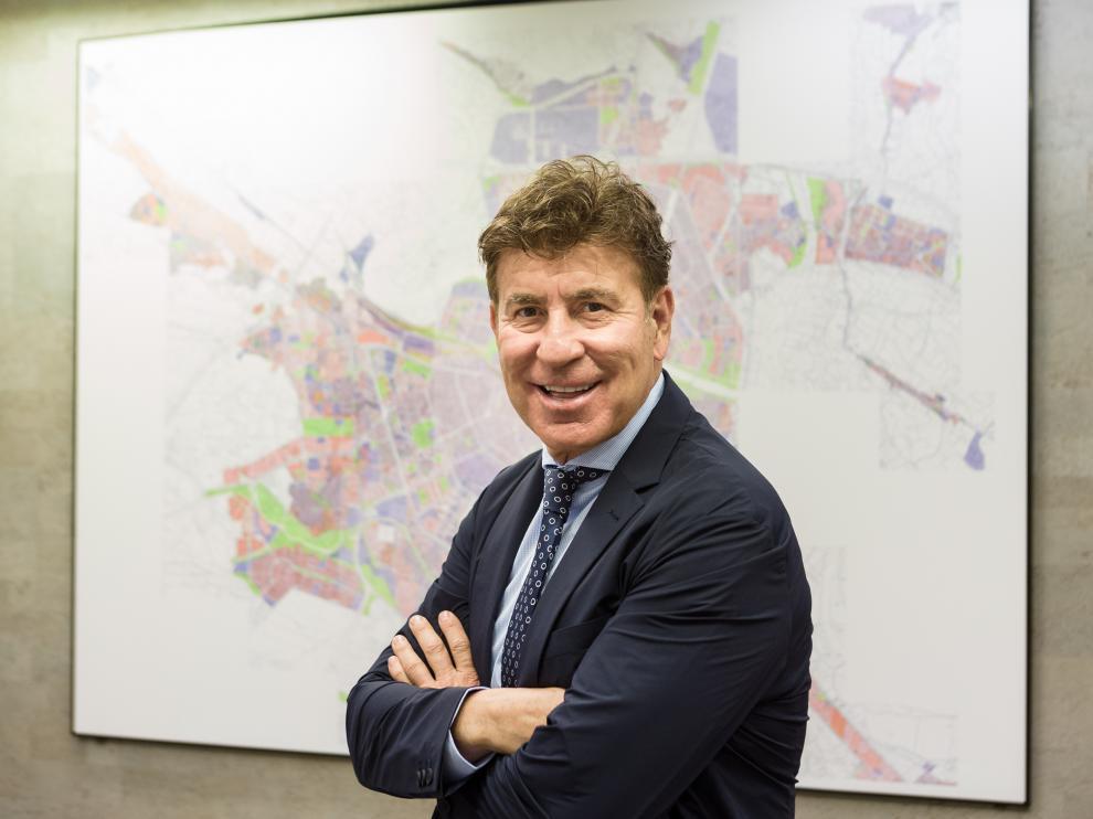 Michel Castillo, en la sede de la empresa.