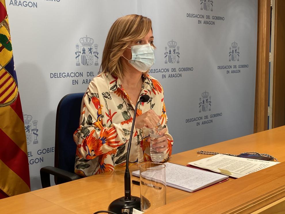 La delegada del Gobierno en Aragón, Pilar Alegría