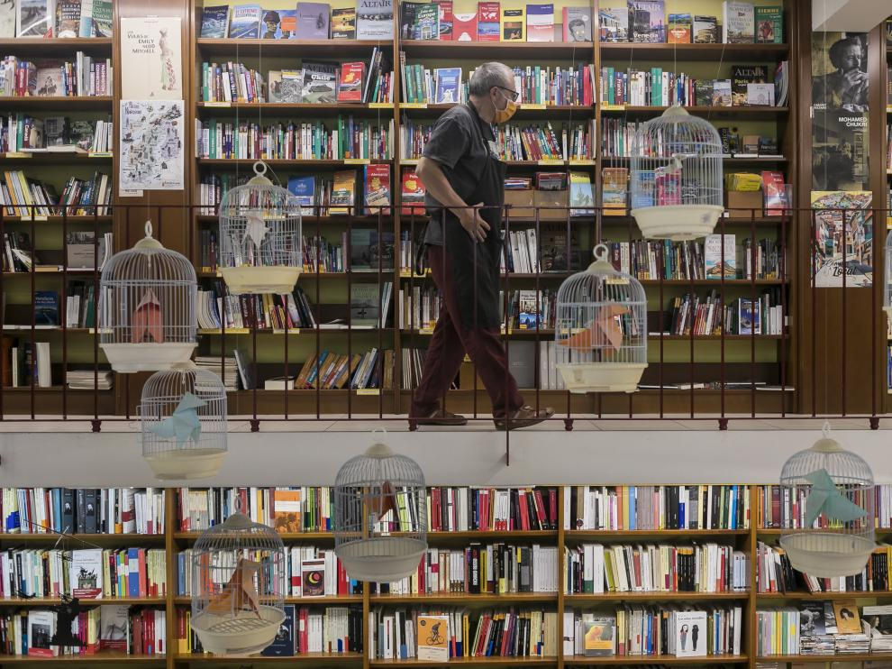 Librería Cálamo, de Zaragoza, en una imagen de archivo.