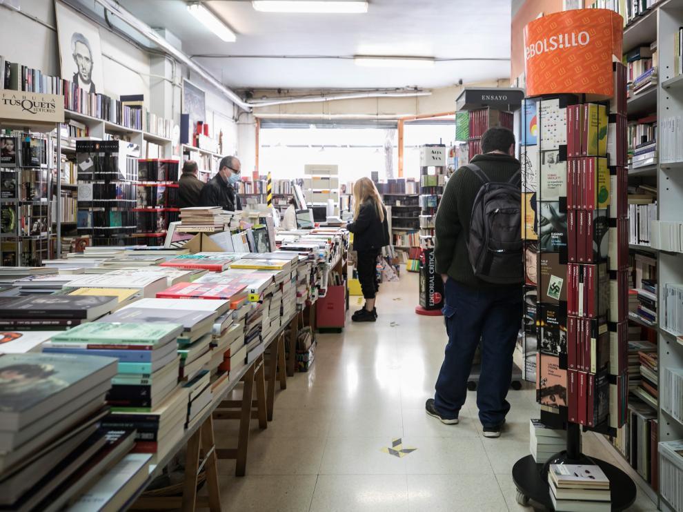 Librería Antígona de Zaragoza