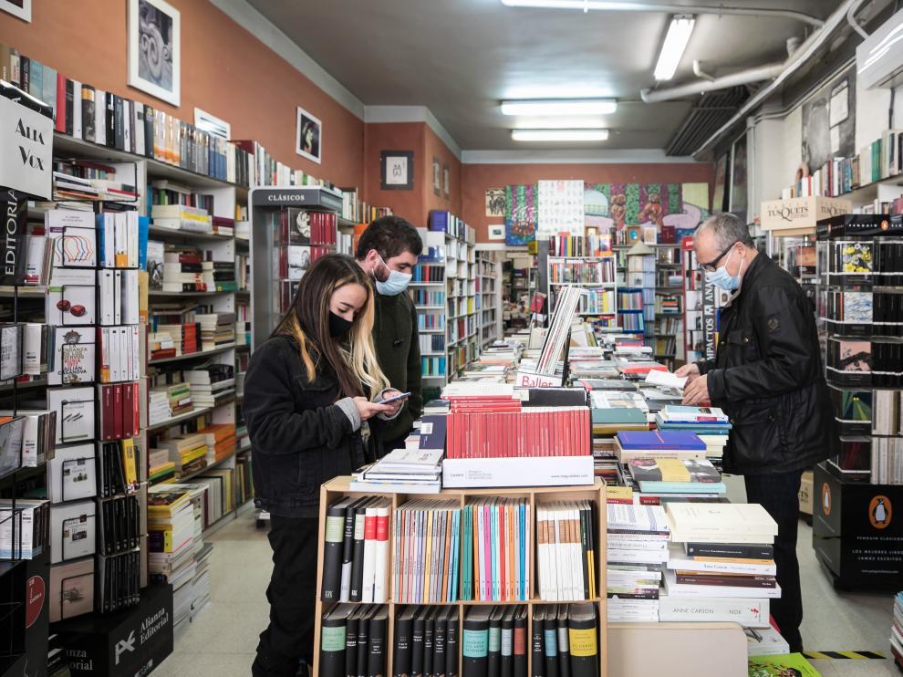 Librerías de Zaragoza y el aumento de interés por sus libros