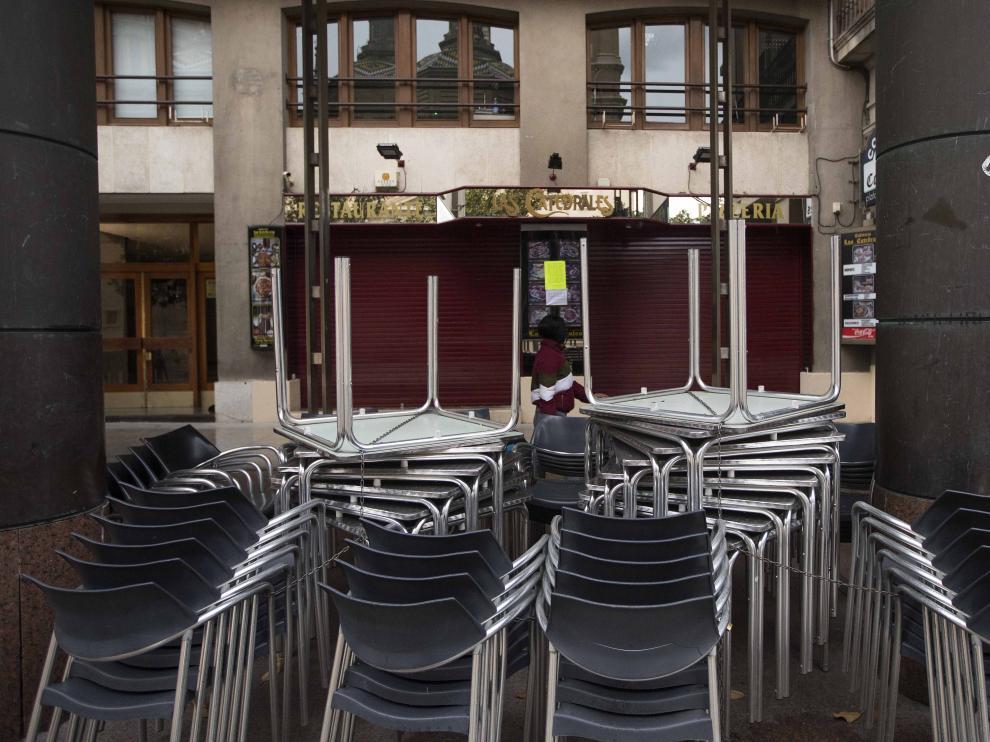 Los hosteleros auguran nuevos cierres tras la «cascada»vivida con la entrada en vigor del nivel 3