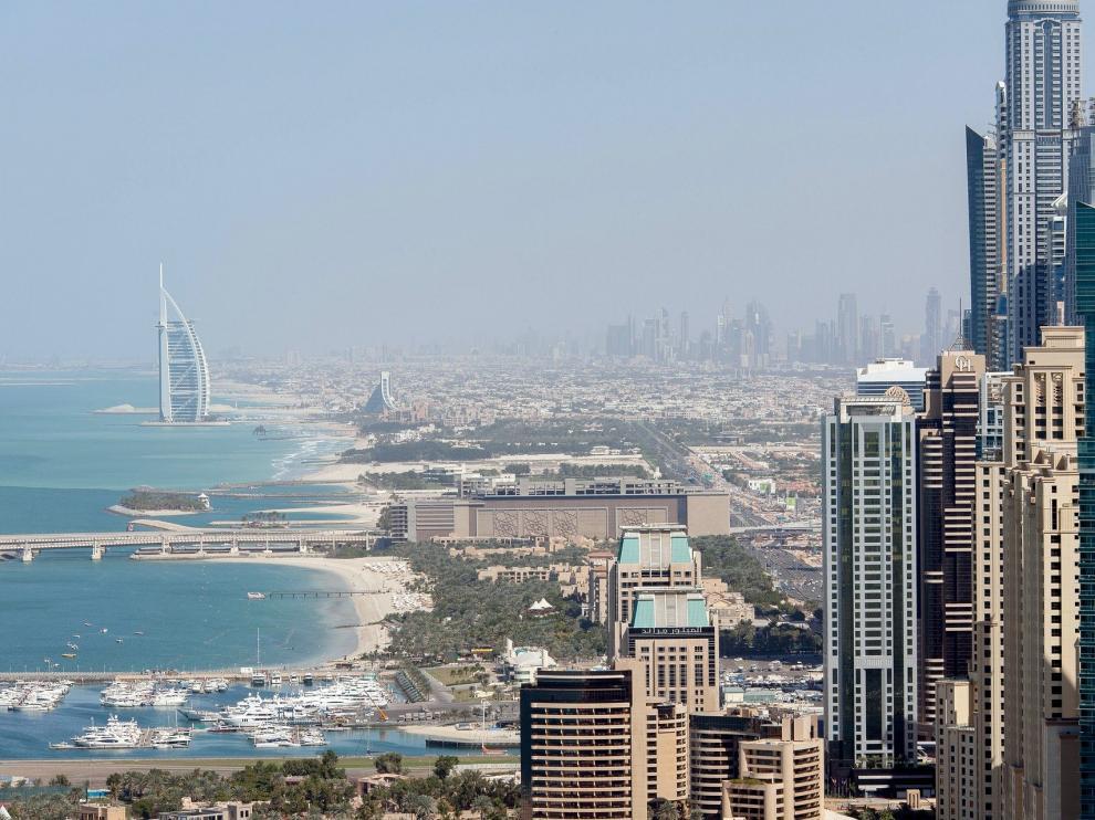 Imagen de la ciudad de Dubai.