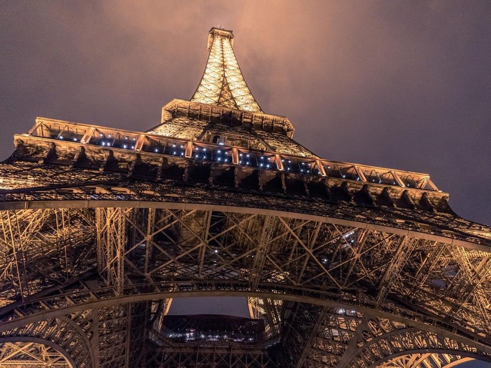 Foto de archivo de la Torre Eiffel