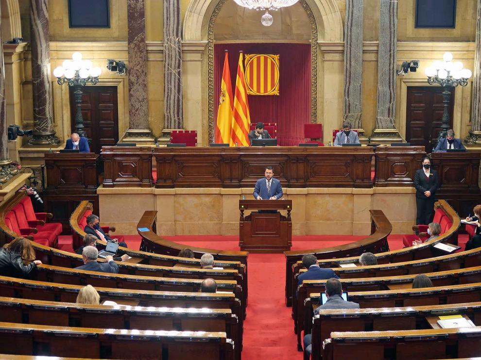 Foto de archivo del Parlament de Cataluña.