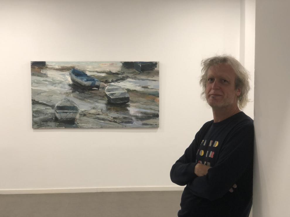 Eduardo Lozano expone hasta enero en el Centro Joaquín Roncal.