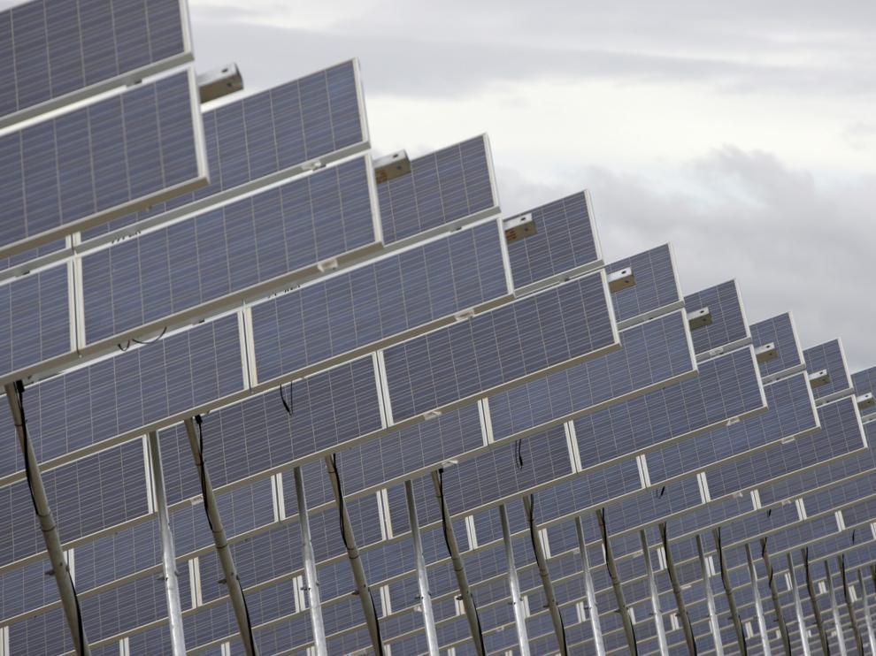 Los proyectos solares fotovoltaicos están teniendo un fuerte impulso en Aragón .