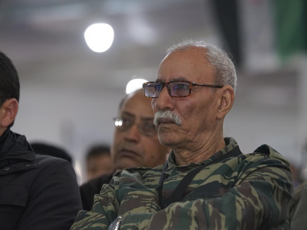 Brahim Gali, secretario general del Frente Polisario.