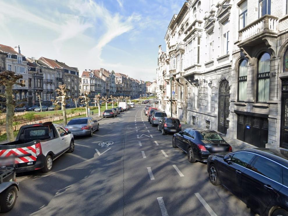 Avenida de Louis Bertrand, en Bruselas.