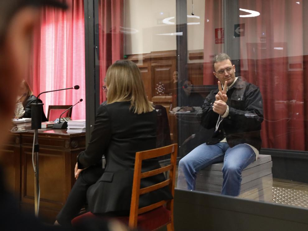 Norbert Feher, alias Igor El Ruso. 28/01/2020 fotos Javier Escriche [[[FOTOGRAFOS]]][[[HA ARCHIVO]]]