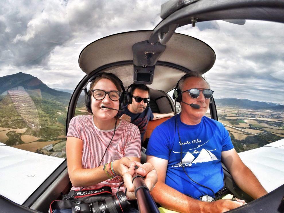 Laura Uranga y Pablo Ferrer, dos años de recorrido por los 731 pueblos de Aragón.