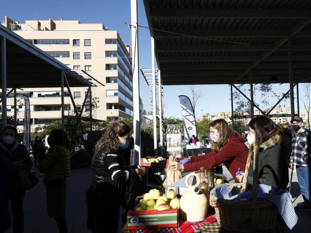 Mercado agroalimentario de Parque Venecia
