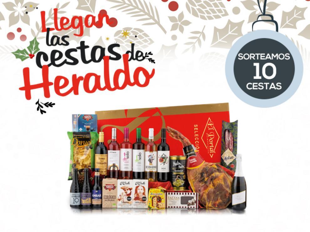 Heraldo te invita a participar en el exclusivo sorteo de diez cestas de Navidad
