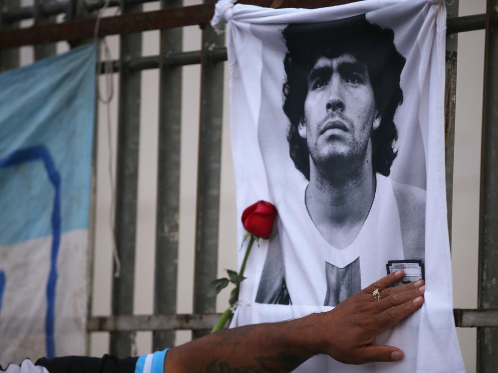 Argentina, de luto por Maradona