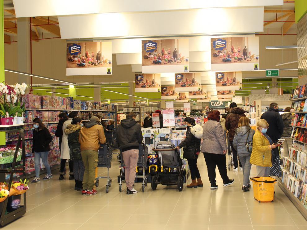 Nuevo supermercado Orangután de Monzón