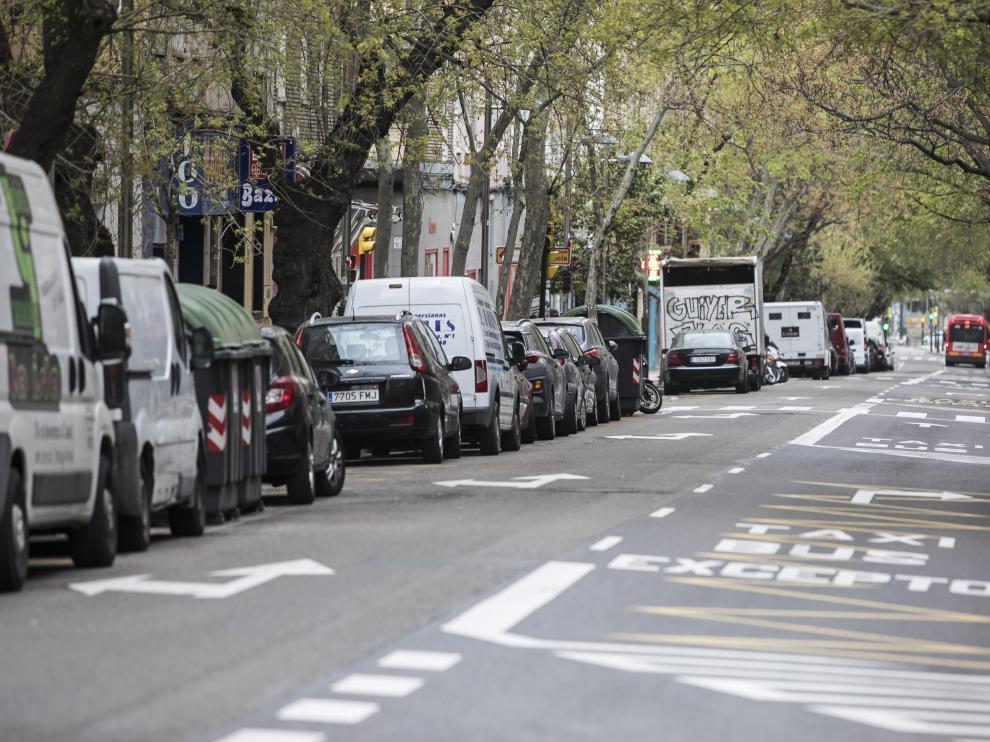 Una imagen de la avenida de América.