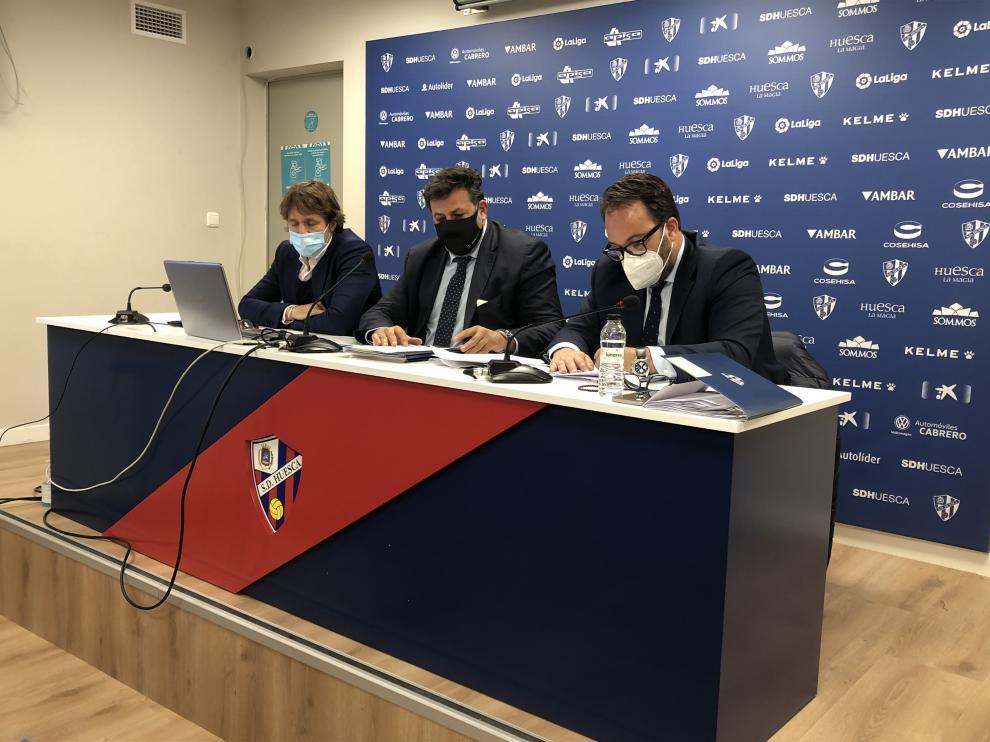 De izquierda a derecha: Josete Ortas, Manolo Torres y Pedro Camarero.