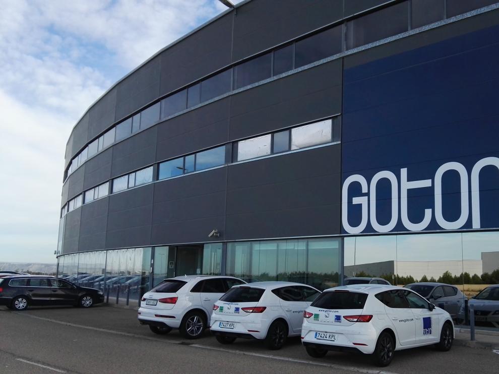 La sede central de Gotor Comunicaciones, en la plataforma logística Plaza de Zaragoza.