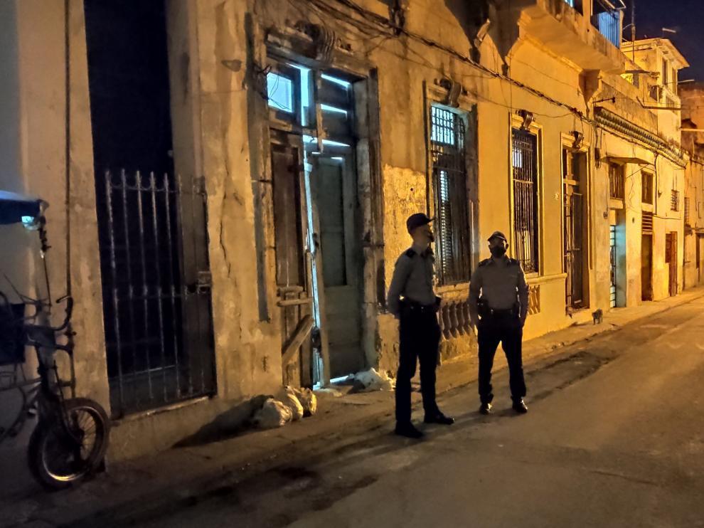 Vivienda de La Habana vieja donde se produjo el desalojo
