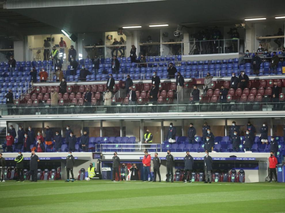Partido SD Huesca - Sevilla en imágenes
