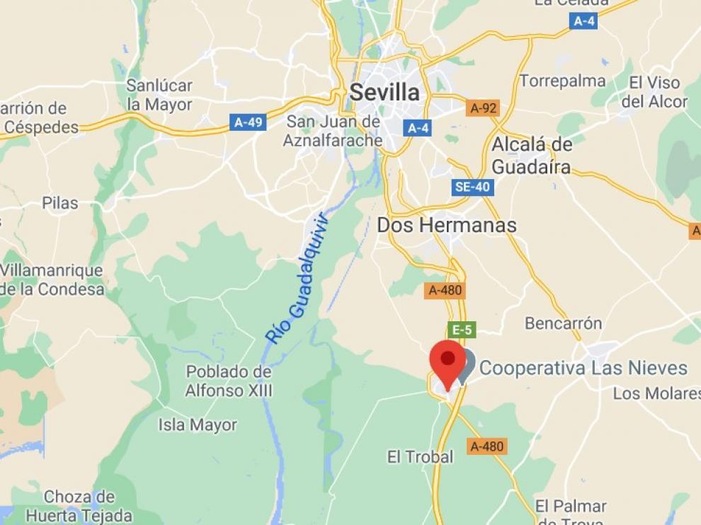 El seísmo se ha registrado en el municipio andaluz de Los Palacios y Villafranca.