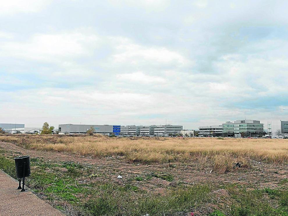 Parcela de cinco hectáreas adquirida para el centro de distribución de Amazon en Plaza.